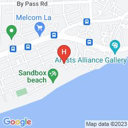 Map LA PARADISE INN