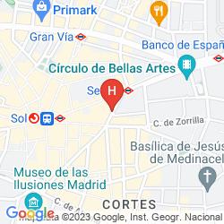 Map QUATRO PUERTA DEL SOL
