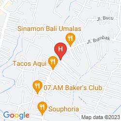 Map UPPALA VILLA & SPA UMALAS
