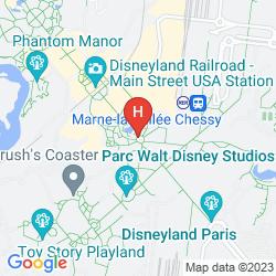 Map DISNEYLAND