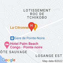 Map ATLANTIC PALACE HOTEL