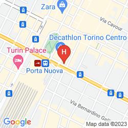 Map STARHOTELS MAJESTIC