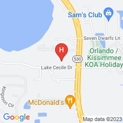 Map SEASONS FLORIDA RESORT