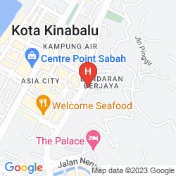 Map M HOTEL - BANDARAN BERJAYA