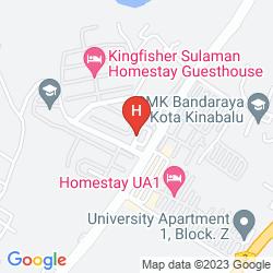 Map SKYPOD HOSTEL