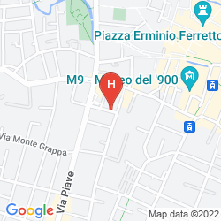 Map L' AFFITTACAMERE DI VENEZIA