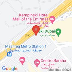 Map SIGNATURE HOTEL AL BARSHA