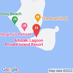 Map AITUTAKI LAGOON PRIVATE ISLAND RESORT (ADULTS ONLY)