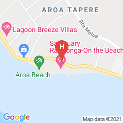 Map SANCTUARY RAROTONGA-ON THE BEACH