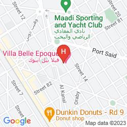 Map VILLA BELLE EPOQUE