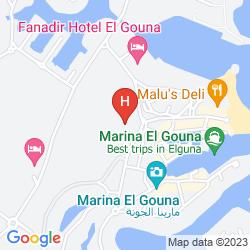 Map THE THREE CORNERS RIHANA RESORT