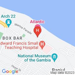 Map LAICO ATLANTIC BANJUL