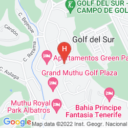 Map VINCCI TENERIFE GOLF