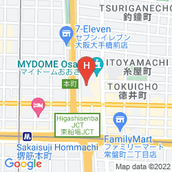 Map CITY PLAZA OSAKA