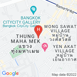 Map U SATHORN BANGKOK