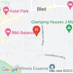 Map GRAND HOTEL TOPLICE
