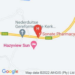 Map PROTEA HOTEL HAZYVIEW