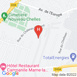 Map CITY RESIDENCE CHELLES