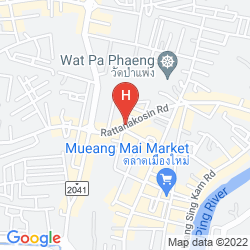 Map SLEEPBOX CHIANGMAI