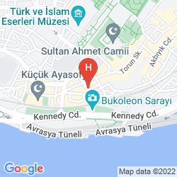 Map AREN SUITES
