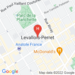 Map RESIDENCE COURCELLE