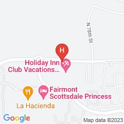 Map HOLIDAY INN CLUB VACATIONS SCOTTSDALE RESORT