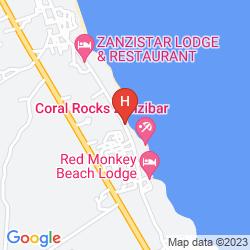 Map ARTHOTEL ZANZIBAR