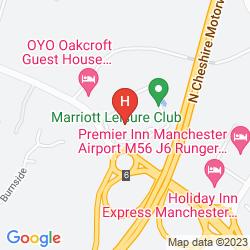 Map MANCHESTER AIRPORT MARRIOTT HOTEL