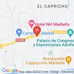 Map APARTAMENTOS GUADALPIN BOUTIQUE
