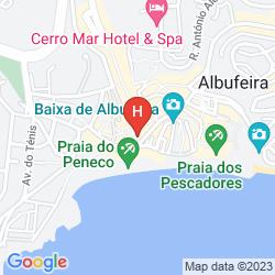 Map AURAMAR BEACH RESORT
