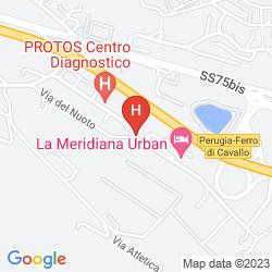 Map LA MERIDIANA