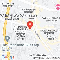 Map THE LALIT MUMBAI