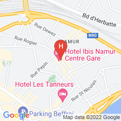 Map IBIS NAMUR CENTRE