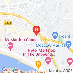 Map DE FRANCE