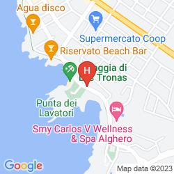 Map CARLOS V
