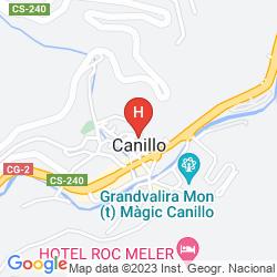 Map PIERRE & VACANCES APARTAMENTOS ANDORRA RANSOL