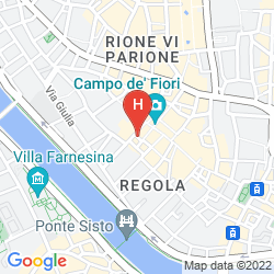 Map PIAZZA FARNESE LUXURY SUITES