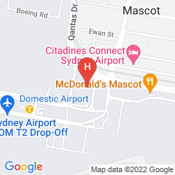 Map STAMFORD PLAZA SYDNEY AIRPORT