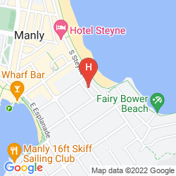 Map THE SEBEL MANLY BEACH