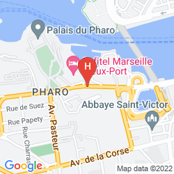 Map SOFITEL MARSEILLE VIEUX PORT