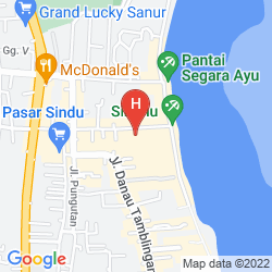 Map VILLA MAHAPALA