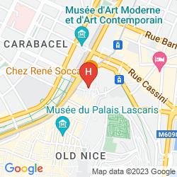 Map VILLA LA TOUR