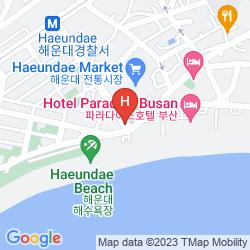 Map KUNOH SEACLOUD HOTEL