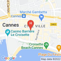 Map BARRIERE LE GRAY D'ALBION