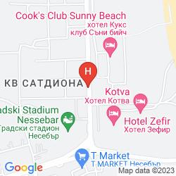 Map APART HOTEL & SPA DIAMANT RESIDENCE