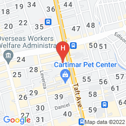 Map VICTORIA COURT GIL PUYAT
