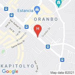 Map PRIVATO HOTEL