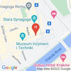 Map MIODOSYTNIA APARTHOTEL KRAKOW