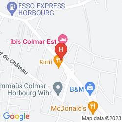 Map IBIS COLMAR HORBOURG WIHR