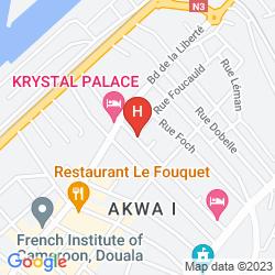 Map HÔTEL BANO PALACE